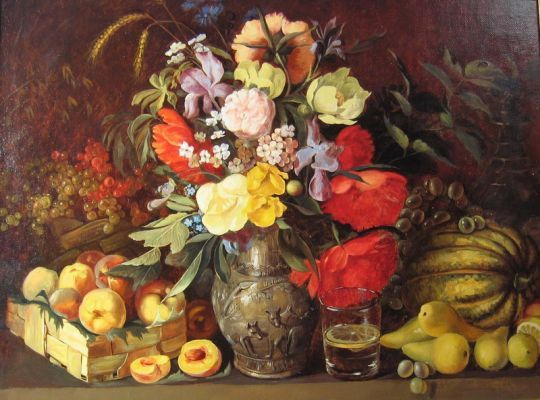 Сочинение по картине И. Хруцкого «Цветы и плоды» (3 класс)