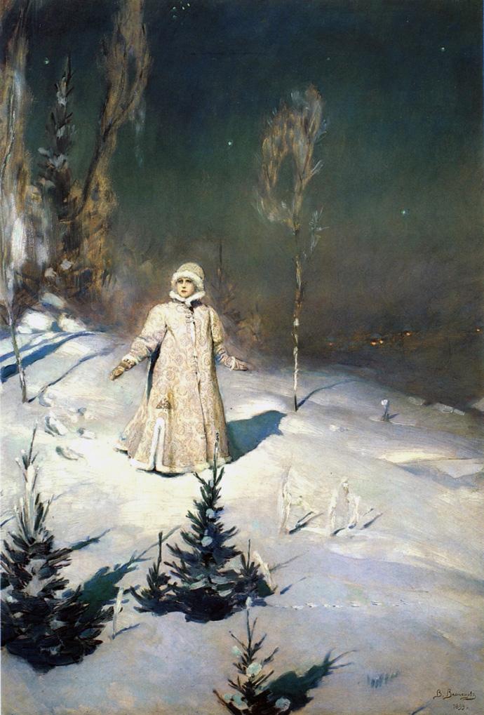 Сочинение по картине В. Васнецова «Снегурочка» (3 класс)