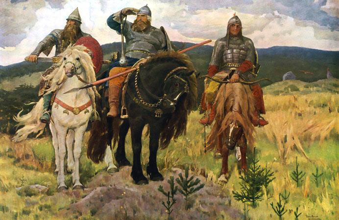 Сочинение по картине Васнецова «Три богатыря» (4 класс)