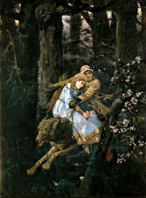 Сочинение по картине Васнецова «Иван Царевич на сером волке» (4 класс)