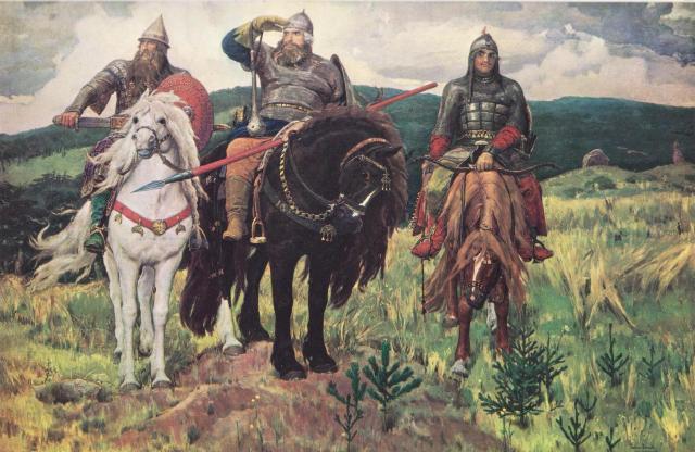 Сочинение по картине В. Васнецова «Богатыри» (2 класс)