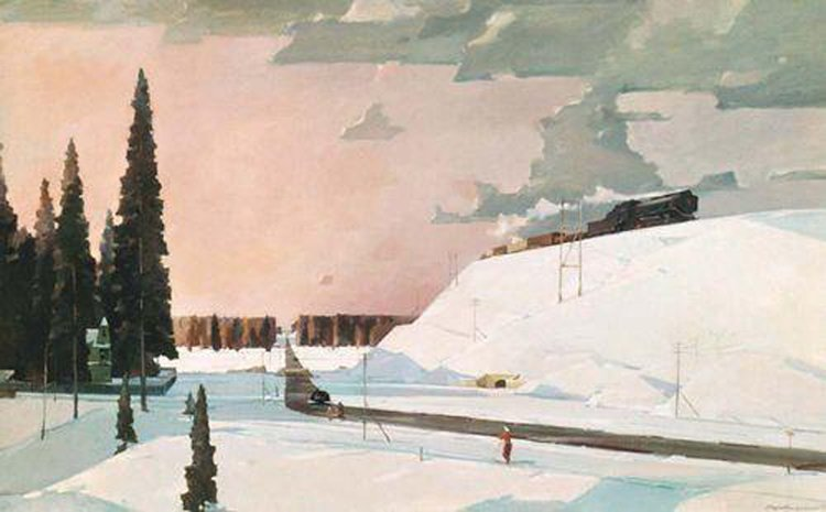 Сочинение по картине Нисского «Февраль. Подмосковье» (5 класс)