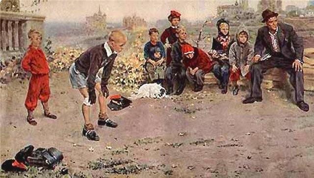 Сочинение по картине Григорьева «Вратарь» (7 класс)