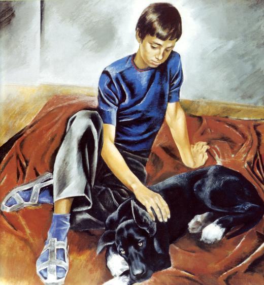Сочинение по картине Широкова «Друзья» (7 класс)